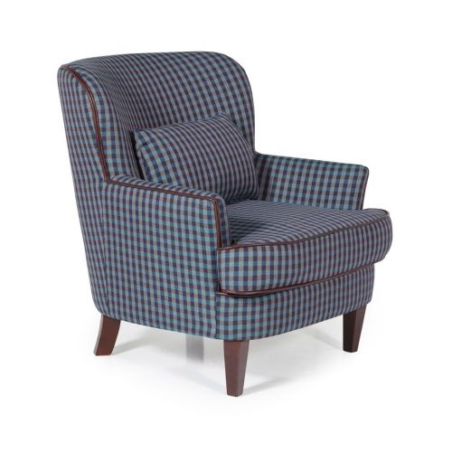 Ocassional Moffat Blue Occasional Chair